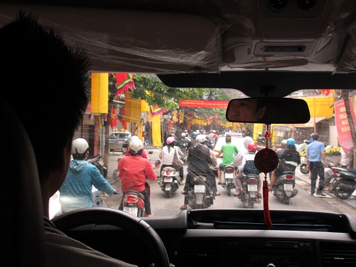 Messy Streets of Hanoi