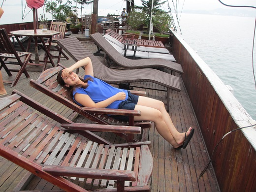 Lazing Around on a Cruise