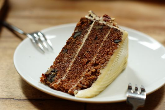 Walnut Carrot Cake @ Toby's Estate