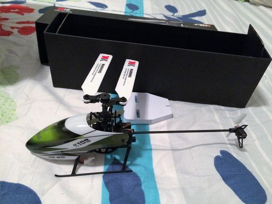 My first RC Hobby Helicopter